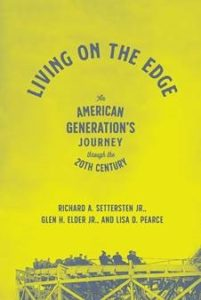 living on the edge: book jacket